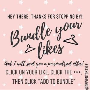 Bundle your likes, I'll send an offer!